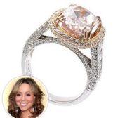Pink Diamond Ring Mariah Carey